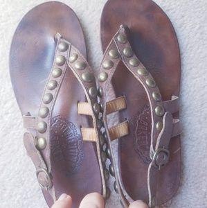 Fiorentini + Baker studded sandal